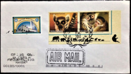 """United Nations, New York, Circulated Cover To Portugal, """"Fauna"""", """"Endangered Species"""", 2010 - New-York - Siège De L'ONU"""