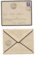 3150) Imperiale SANTOMENNA 57-199 1939 Annullo FRAZIONARIO Cover X QUISISANA - 1900-44 Vittorio Emanuele III