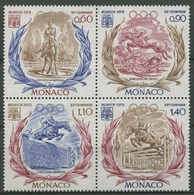 Monaco 1972 Olympia München Sommerspiele 1045/48 ZD Postfrisch (C91472) - Monaco