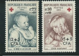 REUNION CFA: **, N° YT 366 Et 367, TB - Nuovi