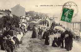 CHATELAILLON -  Le Boulevard De La Mer - Châtelaillon-Plage