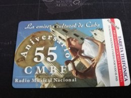 CUBA  5.00 PESOS MINT  ETECSA MAGNET CARD   ** 473** - Kuba