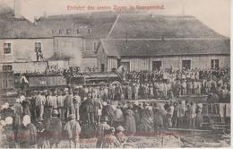57 - SARREGUEMINES - DEPART DU PREMIER TRAIN - Sarreguemines
