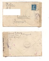 3248) Francia Posta Militare 189 Tresor Des Postes Brigade Russe Cover - Storia Postale