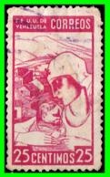 VENEZUELA  AÑO 1937 MOTIVOS LOCALES - Venezuela