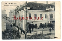 Satoraljaujhely Ca. 1905, Varoshaz Es Melette A Szinhaz - Nach Flensburg - Ungarn