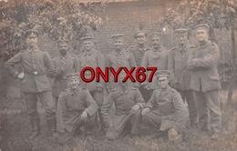 Carte Postale Photo Militaire Allemand LOOS-LES-LILLE ((59-Nord)  Soldat - Soldaten - 2 SCANS - Loos Les Lille