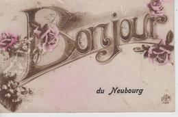 CPA Le Neubourg - Bonjour Du Neubourg - Le Neubourg