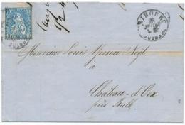 Zumstein 31 - Auf Faltbrief Mit Inhalt (RECHNUNG Jules Daler Fribourg ) Gelaufen FRIBOURG - CHATEAU D' OEX - Briefe U. Dokumente