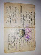 3312) POW WW2 1944 Serrano Lecce Cover CARD LAGER STALAG KREFELD Germany - 1900-44 Vittorio Emanuele III