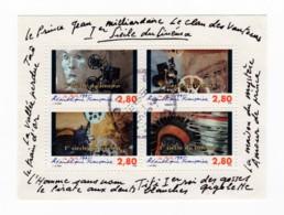 Bloc Feuillet YT BF17 1995 - 1er Siècle Du Cinéma Oblitération Du 18/09/1995 - Oblitérés