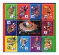 Bloc Feuillet YT BF19 1998 - France 98 Stade De France Oblitérations Du 26/01/1998 Maignelay-Montigny (60) - Oblitérés