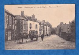 CPA - LANNILIS - Rue De L' Eglise - Place Aux Choux - Cachet Militaire 51e Régiment D'Infanterie - 1915 - WW1 - France