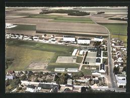 CPA Toury, Vue Aerienne, Quartier Des Ecoles - France