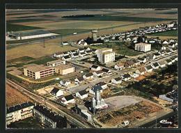 CPA Toury, Vue Aerienne, Les Nouveaux Quartiers Et Le C.E.S. - France