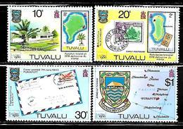 "Tuvalu    ""London 80 Intl. Stamp Exhib.""        Set       SC# 133-36     MNH - Tuvalu"