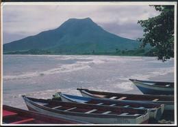 °°° 19186 - VENEZUELA - ISLA DE MARGARITA - PLAYA EL TIRANO - 1991 With Stamps °°° - Venezuela