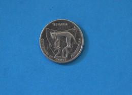 Australia 2001 20c Tasmania Centenary Of Federation Coin 20 Cents - 20 Cents