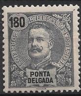 Ponta Delgada – 1898 King Carlos 180 Réis - Ponta Delgada