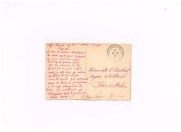 """""""Trésor Et Postes"""" Sur Carte Postale De Bingen à Bar-sur-Aube. (Armée D'occupation En Allemagne) - Marcofilie (Brieven)"""