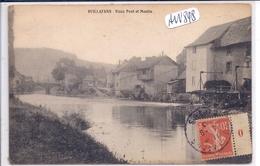 VUILLAFANS- VIEUX PONT ET MOULIN - Autres Communes