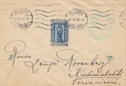 Finnland: 1938: Brief Von Helsinki - Finlandia