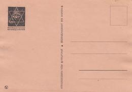GG: Judaika: Fälschung Postkarte SS Hauptamt - Occupation 1938-45