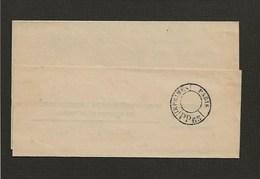 1897 Avis Enregistrement Port Payé (cachet Paris Imprimés PP 65 Noir) De Tournus Pour Bayeux  (bande Absente) - 1877-1920: Periodo Semi Moderno