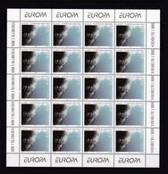 CROATIE 1995 - FEUILLE NEUVE TIMBRE N°285/86 EUROPA - PAIX ET LIBERTE - Croatie