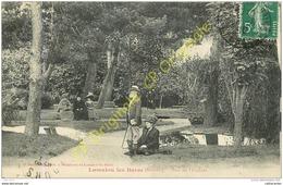 34. LAMALOU LES BAINS . Parc De L'Usclade .  CPA Animée . - Lamalou Les Bains