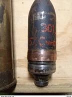 WWII 3,7cm German OBUS Projektil GRENADE Neutralisé - 1939-45