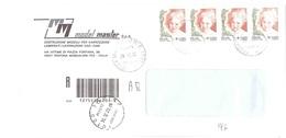 RACCOMANDATA ANNULLO MONCALIERI C.TO - 2001-10: Poststempel