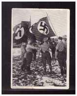 Dt-Reich (008571) Sammelbild, Männer Und Ereignisse Unserer Zeit, Bild 261, Fahnenweihe Standarte 13 Berlin-Marienfelde - Sturm