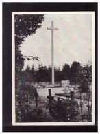 Dt-Reich (008573) Sammelbild, Hindenburg, Ergänzungsserie Bild 9, Heldenfriedhof Waplitz - Sturm
