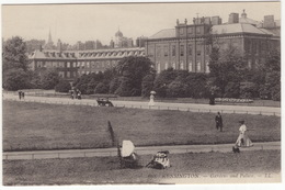 668 Kensington. -- Gardens And Palace -- LL. - (England) - London - Otros