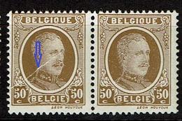 203  Paire  **  T 1  Pli Accordéon - 1922-1927 Houyoux