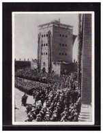 Dt-Reich (008585) Sammelbild, Hindenburg, Ergänzungsserie Bild 25, Toter Feldherr, Gehe Nun Ein In Walhall - Sturm