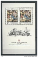 1988 MNH  Ceskoslovensko, Block 88 - Blocks & Sheetlets