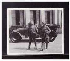 Dt-Reich (008589) Sammelbild, Hindenburg, Bild 57, Hindenburg Besucht Den Armeeführer General Otto Von Below - Sturm