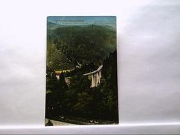 AK Höllental Im Schwarzwald, Ravennaviadukt, Panoramaansicht. - Allemagne