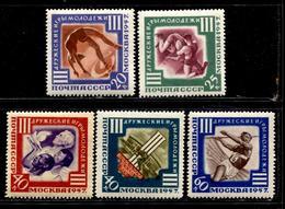 Russia 1957  Mi 1962-66 MNH ** VF - 1923-1991 USSR