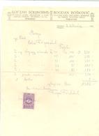 PRNJAVOR BOGDAN BOSKIVIC   BOSNIA AND  HERZEGOVINA  YEAR 1928 - Other