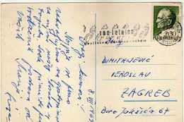 Yugoslavia Ljubljana - Slogan / Flamme / Machine Stamp 1969 100 Years Of Fire Fighting In Slovenia - 1945-1992 République Fédérative Populaire De Yougoslavie