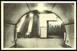 ANTWERPEN - ANVERS - Tunnel Onder De Schelde: Voetgangers - Tunnel Sous L'Escaut : Piétons - Not Circulated - Nicht Gel - Antwerpen