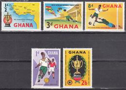 GHANA   SCOTT NO. 61-65   MNH    YEAR  1959 - Ghana (1957-...)