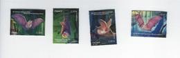 Série Nature Les Chauves-souris 4739 à 4742 Oblitérés 2013 - Francia