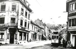Dolhein - Rue Des Ecoles -  Tram -  Ligne Verviers-Eupen - Limburg