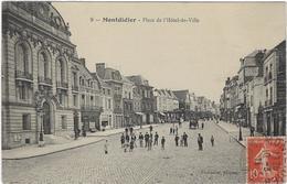 80 Montdidier  Rue De L'hotel De Ville - Montdidier