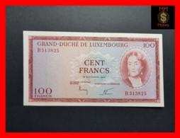 UNC 1986 Luxembourg 100 Francs, 1993 Pick 58b U-Prefix