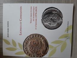 Jean-Marc Doyen, Licinius Et Constantin, 23 études De Numismatique Et D'histoire, Archaion, 2020 - Livres & Logiciels